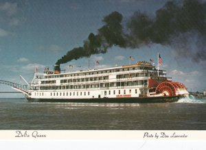 DELTA QUEEN, 1990s-2000s; Steam powered sternwheeler on the Mississippi River