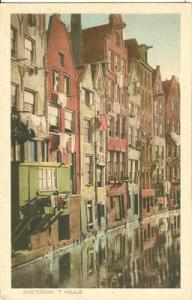 Holland, Netherlands, Amsterdam, T Kolkje, early 1900s un...