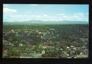 Burlington, Vermont/VT Postcard, Birdseye View Of City