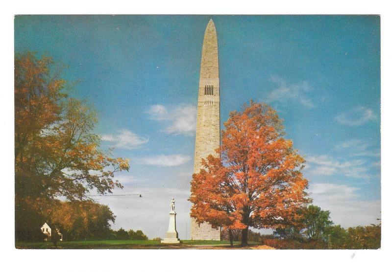 Vermont Bennington Battle Monument and Museum 2 Vintage Mike Roberts Postcards