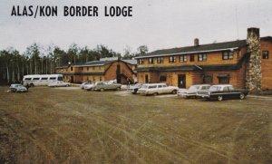 BEAVER CREEK, Alaska 50-60s Alas/Kon Border Lodge