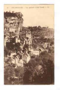 Vue Generale (Cote Ouest), Rocamadour (Lot), France, 1900-1910s