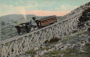 WHITE MTS, New Hampshire, 1900-1910's; Jacob's Ladder, Mt. Washington Railway