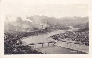 RP; Aerial View of Trail,  British Columbia, Canada, Hughes Bros., 10-20s