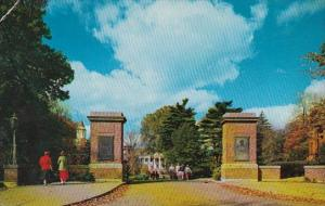 Pennsylvania Meadville Allegheny College Campus Entrance