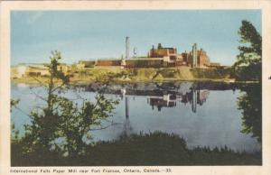 International Falls Paper Mill , FORT FRANCES , Ontario , Canada , 30-40s