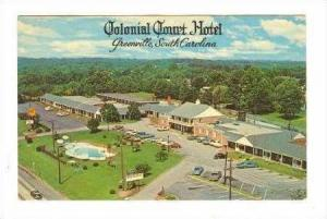 Colonial Court Hotel,Greenville,South Carolina,40-60s