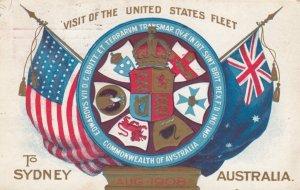Great White Fleet Visit to Sydney , Australia , 1908