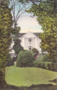 Ash Lawn Home Of James Monroe Charlottesville Virginia Handcolored Albertype