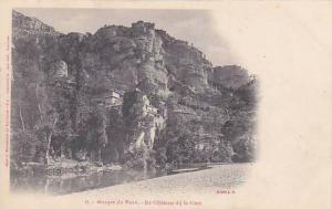 France Gorges Du Tarn Le Chateau de la Caze