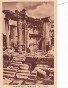 Syria Baalbek Temple de Venus La facade