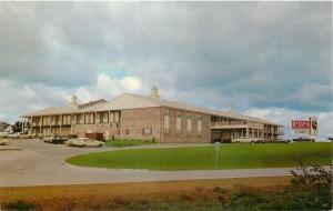 Empire Kansas~Looming Clouds Over Ramada Inn~1960s Cars Postcard