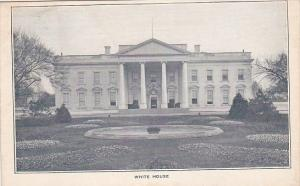 White House Washington D C 1908