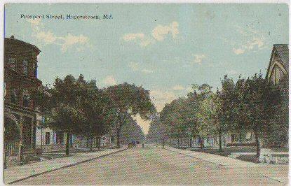 Prospect Street Hagerstown MD -vintage-