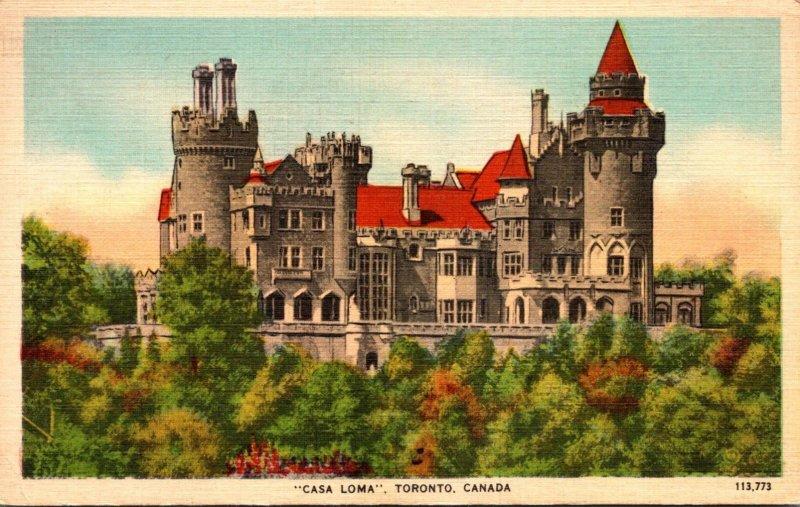 Canada Toronto Casa Loma 1944