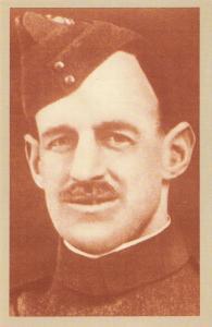 Nostalgia Postcard WW1 RAF Major L.B.J Rees July 1916 Repro Card #N427