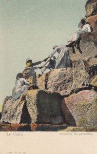Le Caire , EGYPT , 00-10s ; Ascension des Pyramids