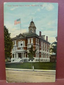 Old Postcard ME Rockland Knox County Court House