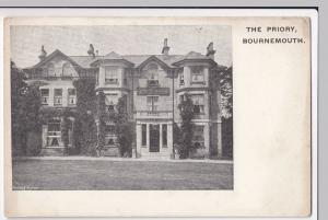 Dorset; The Priory Hotel, Bournemouth PPC, Unposted, c 1910