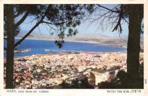 Israel Haifa, View from Mount Carmel, Panorama