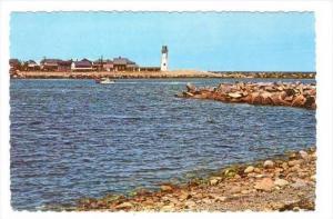 LIGHTHOUSE, Scituate , Massachusetts, 50-60s