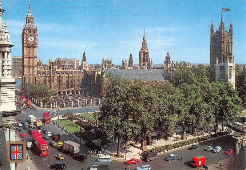 BR89287 london houses of parliament duble decker bus car voiture  uk