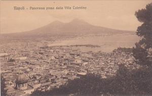Italy Napoli Panorama preso dalla Villa Tolentino