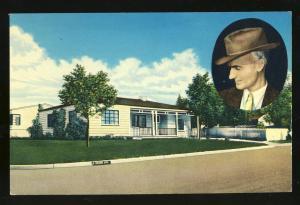 Albuquerque, New Mexico/NM Postcard, Ernie Pyle's Home