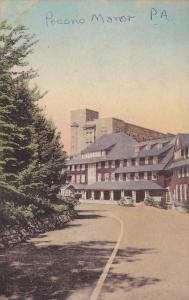 Partial Street View, Pocono Manor, Pennsylvania, PU-1943