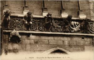 CPA  Dijon - Gargouilles de l'Eglise Notre-Dame  (633592)