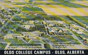 Canada Aerial View Olds College Campus Olds Alberta