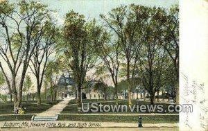 Edward Little Park & High School in Auburn, Maine