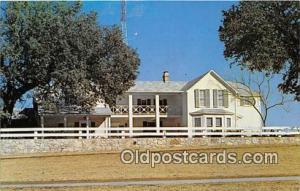 Johnson City, TX, USA Postcard Summer Whitehouse
