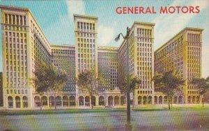 Michigan Detroit The General Motor Building