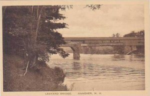New Hampshire Hanover Ledyard Bridge Albertype