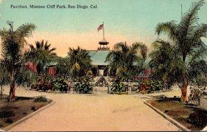 California San Diego Mission Cliff Park Pavilin