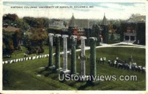 University of Missouri Columbia MO 1918
