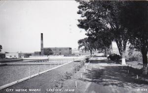 RP, CRESTON , Iowa , 30-40s ; City Water Works,