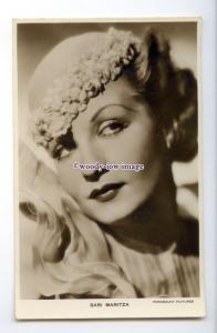b5789 - Film Actress - Sari Maritza - Paramount Pictures - postcard