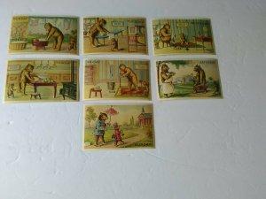 Vintage Reproduction Merrimack Publ. Corp Mon-Sun Bear Postcards