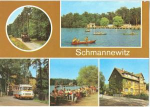 Germany, Schmannewitz, unused Postcard