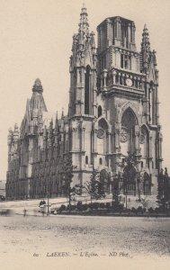 LAEKEN , Brussels , Belgium, 1900-1910's ; L'Eglise