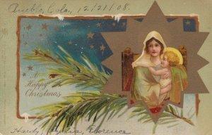 CHRISTMAS ; Mary & Baby Jesus , 1908