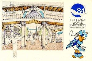 Louisiana World Exposition, 1984 - Pedestrian Mall at Fulton Street