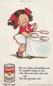 Campbell's Soup , 00-10s Girl setting table