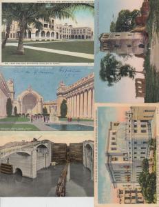PANAMA CANAL ZONE 124 Cartes Postales 1900-1940