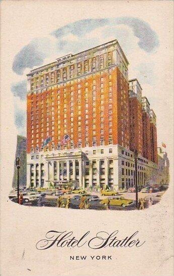 Hotel Statler New York City New York 1959