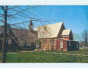 Unused Pre-1980 CHURCH SCENE Bridgeville Delaware DE L2904@
