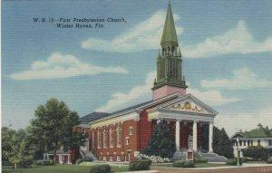 WINTER HAVEN,  Florida , 30-40s ; First Presbyterian Church