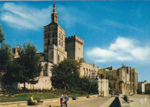 France Avignon La Cathedrale Notre-Dame des Doms